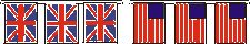 Union Jack and Stars and Stripes bunting