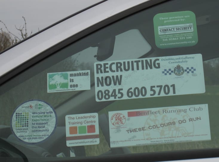 Car Window Stickers Printing Uk