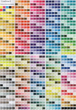 Free Download CMYK Color Chart