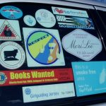 Car window stickers