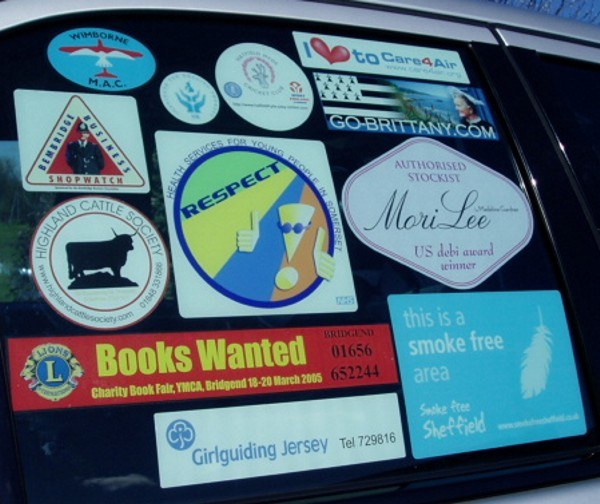 Car Window Stickers Uk