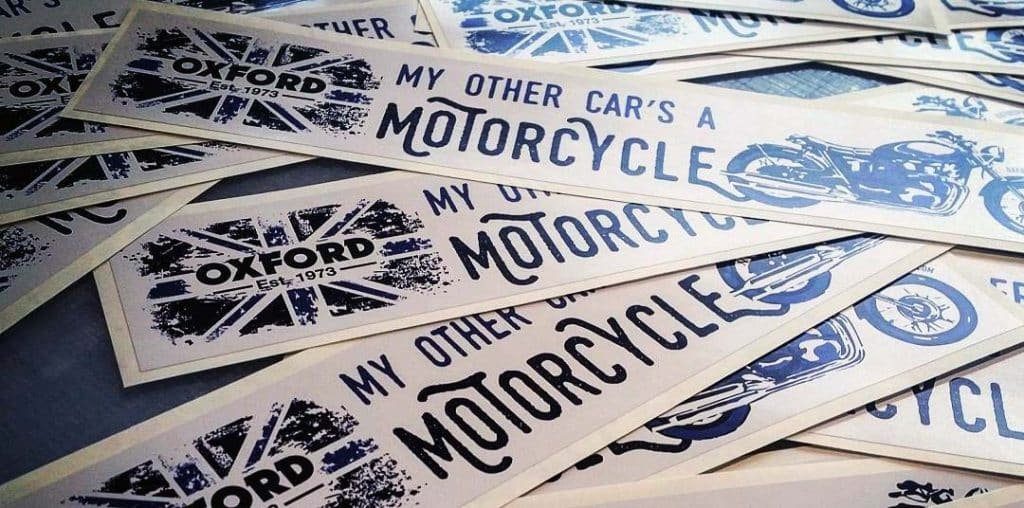 My other car's a motorcycle sticker